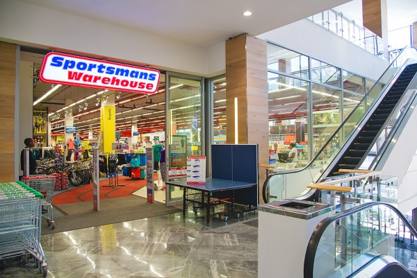 Exterior of Sportsmans Warehouse at The Point Mall