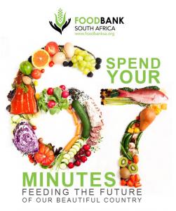 FoodBank SA challenge for 67 minutes