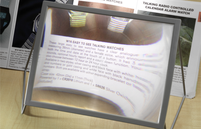 A4-sheet magnifier