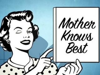 Mom knows best - The Point Mall