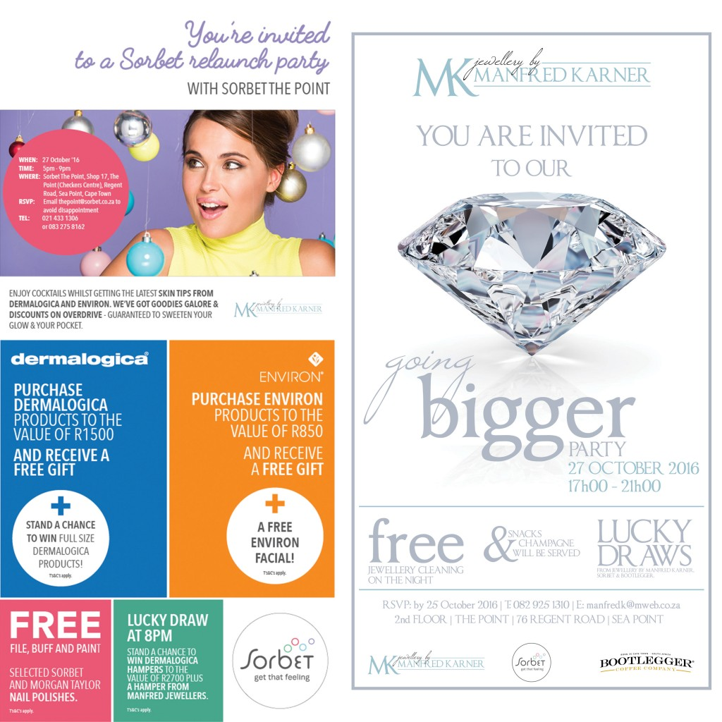 Sorbet, Manfred Jewellers store relaunch